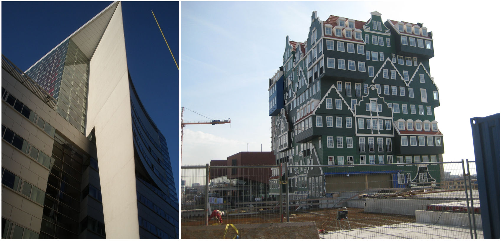 gebouwen met bijzonder architectuur gevelonderhoud installatie