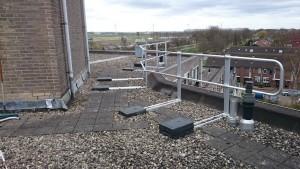 hekwerk op dak valbeveiliging