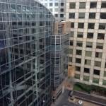 glasgevel groot gebouw